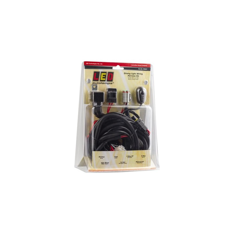 TIR OPTICS Wiring Harness Kit - LED Autolamps on